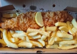 Sea Salt + Sole in Dyce Fish & Chips