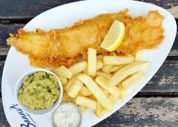 Bannys British Kitchen Fish & Chips in Colne