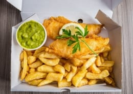 Fish & Chip Takeaway in Leigh